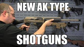 Kral Arms, Turkish Made AK Type 12 Ga  Shotgun, Semi-Auto