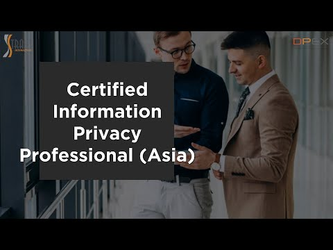 Certified Information Privacy Professional/Asia (CIPP/A) | DPEX ...