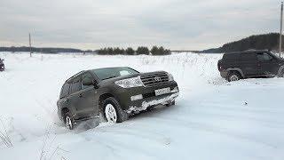 Land Cruiser 200 выносит УАЗа с блокировками?? Жёсткий Оффроад + 402 по полю!  Бездорожье  2018