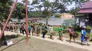 preview picture of video 'Acara Adat Nebeq Rau Kampung Tukul Kec.Tering Kab.Kutai Barat'