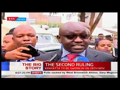 Second Ruling:Supreme Court upholds president Uhuru Kenyatta