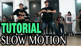 SLOW MOTION - Trey Songz Dance TUTORIAL | @MattSteffanina Choreography