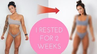 HOW MY BODY CHANGED AFTER 2 WEEKS OF SICKNESS - HOW TO DEAL WITH BEING ILL
