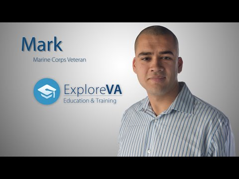 Mark is where he is in life because of VA benefits.