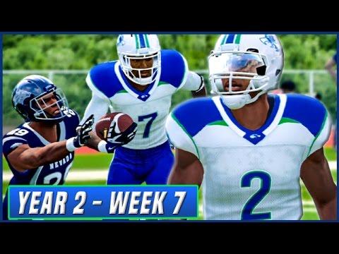 NCAA Football 14 Dynasty Year 2 - Week 7 @ Nevada | Ep.26