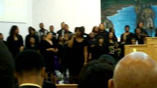 "Reginald Maddox and the Motor City Youth Choir (MCYF) - Singing Donald Lawrence ""I've Got Something"""
