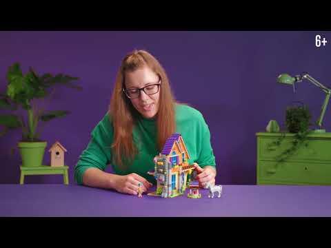 Дом Мии - LEGO Friends - Видео от дизайнера