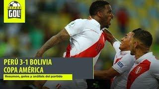 Perú Vs. Bolivia 3-1: Resumen, Goles Y Análisis Por Copa América 2019