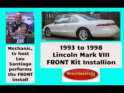 Lou Santiago 1994 Lincoln Mark VIII Strutmasters Strut Conversion Install Part 2 of 2