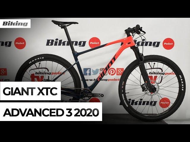 Видео Велосипед Giant XTC Advanced 29 3 Gloss Neon Red/Matte Metallic Navy