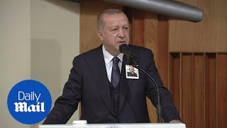 Turkish President Erdogan condemns New Zealand mosque attack