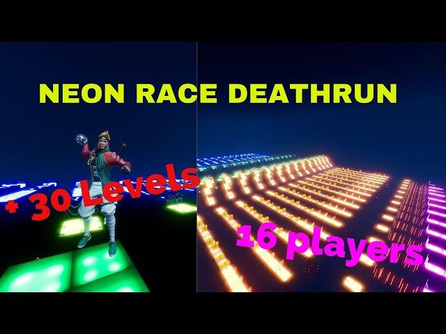Neon Race Deathrun