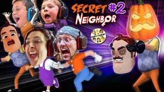 HELLO NEIGHBOR PUMPKIN HEAD! 👻 Halloween Hide-n-Seek Secret Neighbor + FGTEEV House Alarm Goes Off