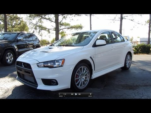 2011 Mitsubishi Lancer Evolution GSR In-Depth Review