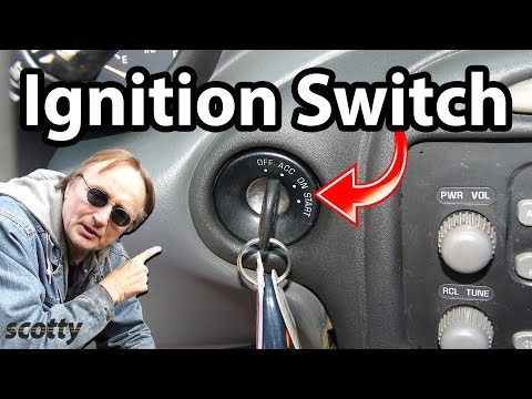 How to Replace the Ignition Switch in Your Car - DIY with Scotty Kilmer