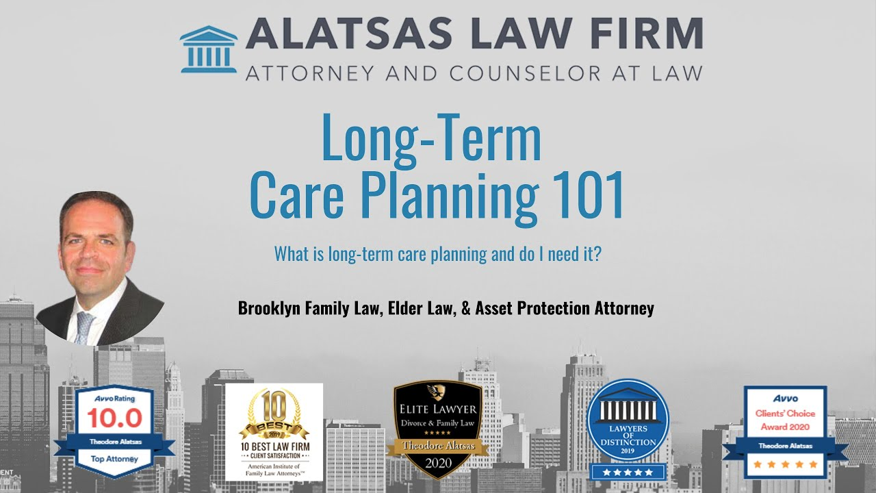 What is long term care planning?