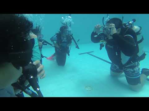 Kid's scuba lesson part 1