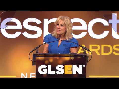 Dr. Jill Biden, introduced by Mary Jane Karger | GLSEN Respect Awards - New York