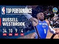 Download Youtube: Russell Westbrook Erupts with Near Triple-Double (34/10/9) vs. Warriors | November 22, 2017