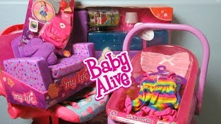 My Life As Living Room Set And Back To School Accessories With My Sweet Love Bathtub And Car Seat