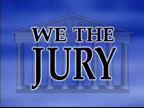 Image of We the Jury, complete program