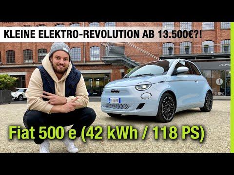 2021 Fiat 500 e (42 kWh) im Test 🤍🔋 Kleine Elektro-Revolution ab 13.500€?! 🤯 Fahrbericht | Review