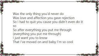 Chrisette Michele - So Cool Lyrics