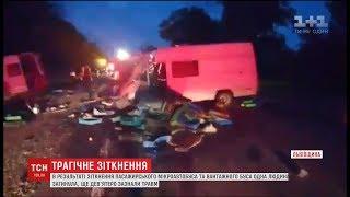 В аварії на Львівщині одна людина загинула і ще дев