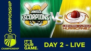 Jamaica v Leewards - Day 2   West Indies Championship    Friday 1st March 2019