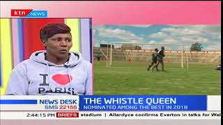 Tabitha Wambui nominated among the best referees in 2018