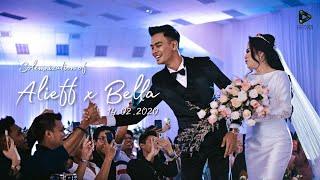 MALAY WEDDING | #alieffxbella Majlis Pernikahan Alieff Irfan & Bella