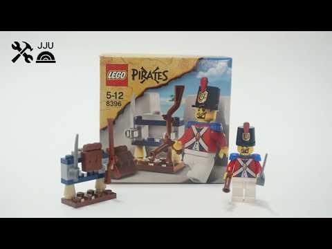 Vidéo LEGO Pirates 8396 : Le soldat