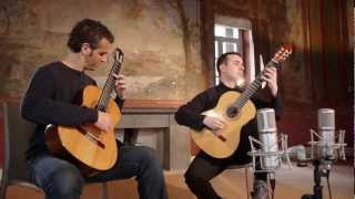 Astor Piazzolla 'Tango Suite' for two guitars Duo Pace Poli Cappelli (guitar duo)