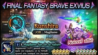 ANALYSE KUNSHIRA - Brave Exvius FR