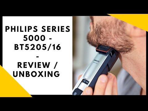 Philips Series 5000 BT5205/16 Review - Unboxing Test (deutsch)