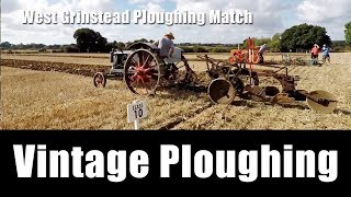 Bald Explorer goes to a Ploughing Match - VINTAGE PLOUGHING