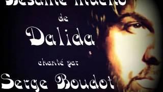 """♫♪♫♪♫ """" Besame mucho """" de Dalida, chanté par serge Boudot ♫♪♫♪♫"""