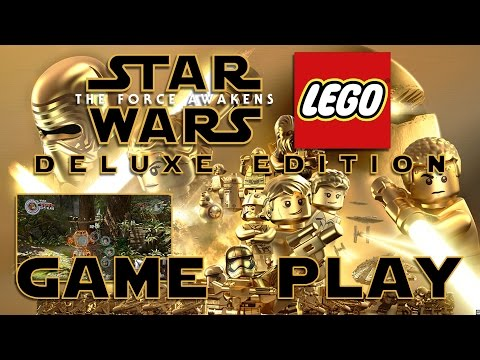 Lego Star Wars the force awakens Deluxe Edition Gameplay