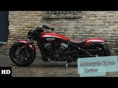 Hot News!! 2019 Indian Scout Bobber Unveil l Bobber Unveil Motorcycle Cruiser Review 2019