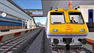 Indian Train Racing Games 3D - Multiplayer #4 (Android Gameplay )