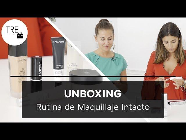 "UNBOXING: Rutina ""Maquillaje intacto"" de Lancome | Unboxing"