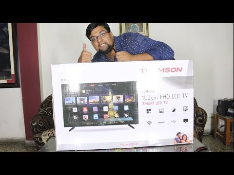Thomson 40 inch FHD Smart TV with new UI My Wall | Best 40inch TV under 20,000?