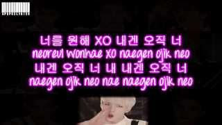 EXO K - XOXO Color Coded Lyrics