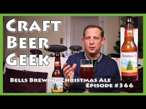 Bells Christmas Ale.Bells Brewing Christmas Ale Video Review 366 The Craft