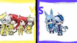I'm A Banana VS I'm Blue =gacha Life=