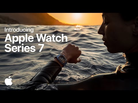 Launch video for Series 7 of the Apple Watch features adventure