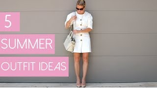 5 Summer Outfits | Fashion Over 40