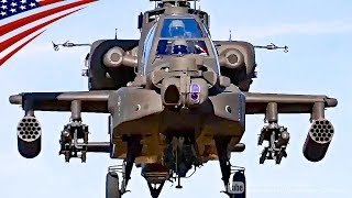 AH-64 Apache Helicopter Cool Video & Maneuver/Shoot