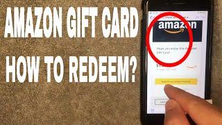 ✅  How To Redeem Amazon Gift Cards On Amazon 🔴