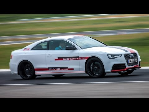 Audi RS5 TDI concept: could 'e-boost' herald a diesel supercar?